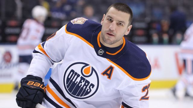 NHL forward Milan Lucic
