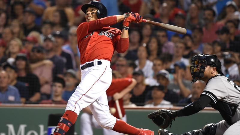 Red Sox's Team Batting Average Climbing Over Impressive Seven-Game Stretch