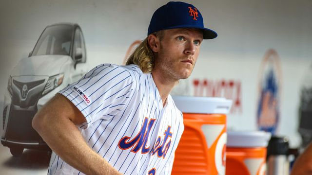 New York Mets pitcher Noah Syndergaard