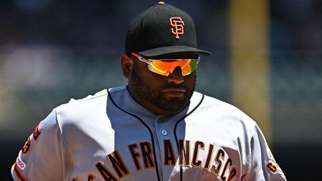 San Francisco Giants infielder Pablo Sandoval