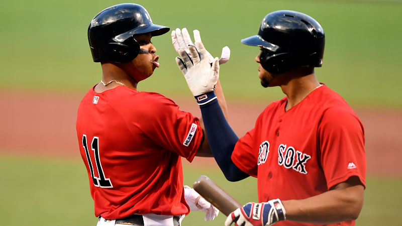 Red Sox's Rafael Devers, Xander Bogaerts Among Top Hitters In American League