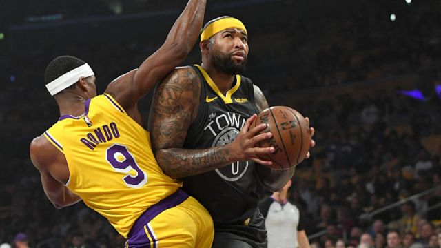 Los Angeles Lakers Rajon Rondo, DeMarcus Cousins
