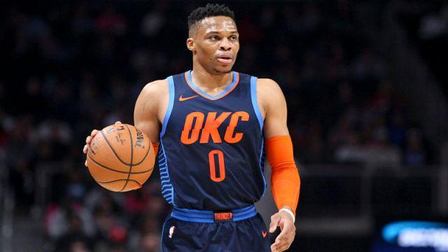Oklahoma City Thunder guard Russell Westbrook