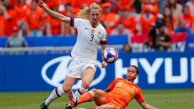 USA Soccer Midfielder Sam Mewis
