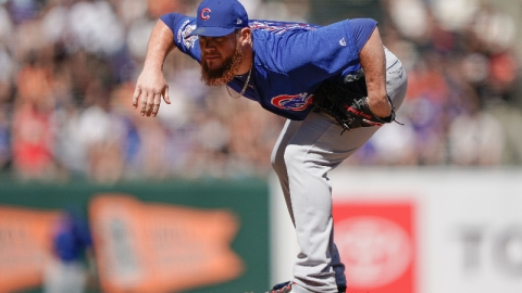 Chicago Cubs relief pitcher Craig Kimbrel
