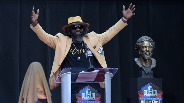 Hall of Fame safety Ed Reed