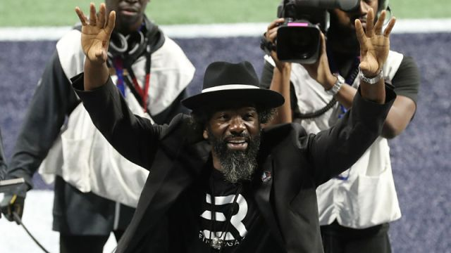 Pro Football Hall of Fame inductee Ed Reed