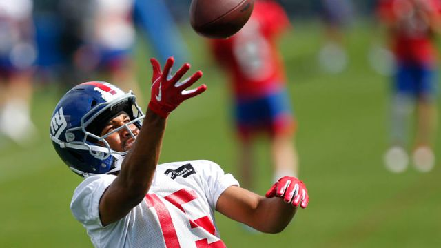 New York Giants wide receiver Golden Tate