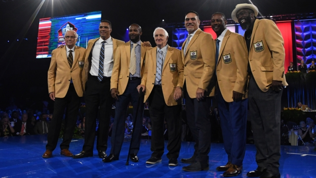 NFL Hall of Fame Inductees