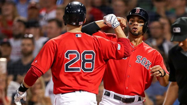 Boston Red Sox DH J.D. Martinez