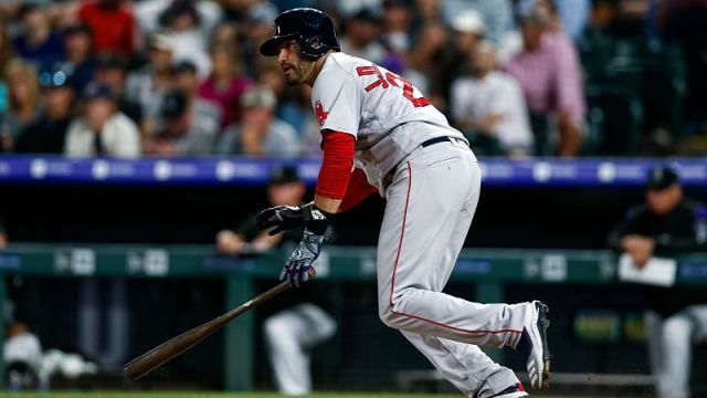Boston Red Sox outfielder J.D. Martinez