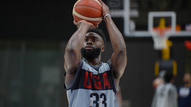 USA forward Jaylen Brown