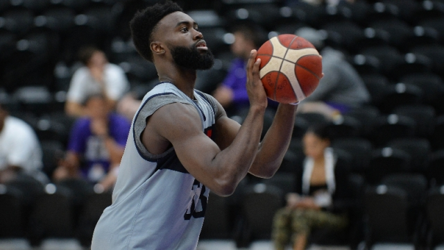 Boston Celtics and United States guard Jaylen Brown