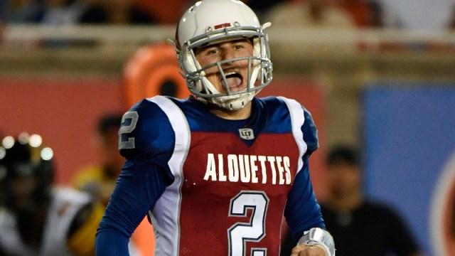 Former NFL quarterback Johnny Manziel