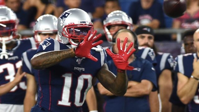 Patriots wide receiver Josh Gordon