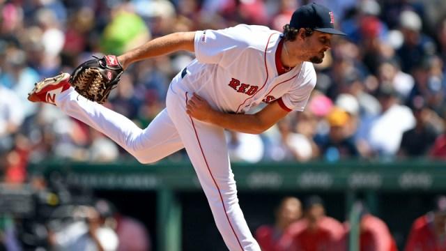 Boston Red Sox Pitcher Josh Taylor
