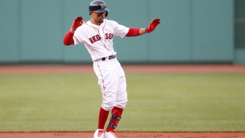 Boston Red Sox Right Fielder Mookie Betts