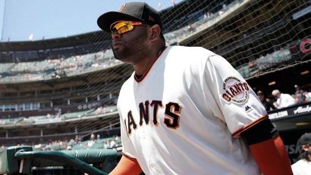 San Francisco Giants' Pablo Sandoval