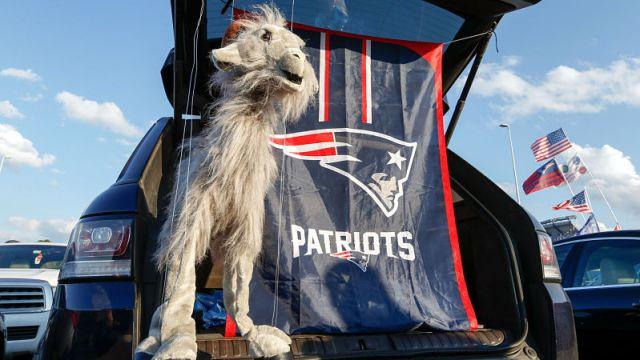 New England Patriots tailgate