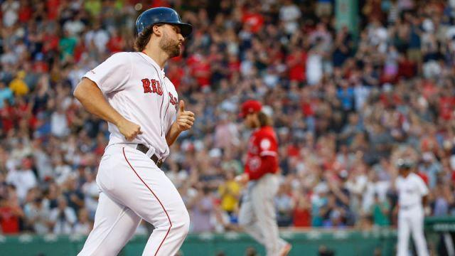 Boston Red Sox Sam Travis