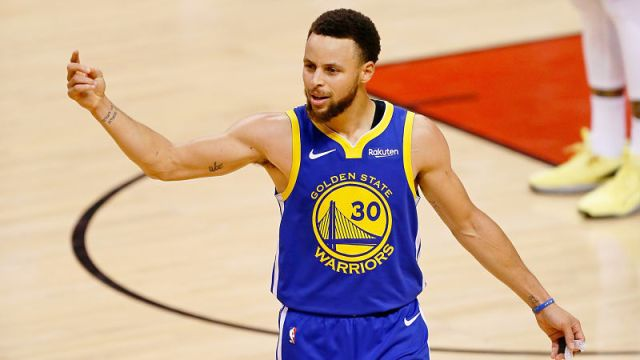 Golden State Warriors guard Steph Curry