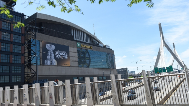 A general view of TD Garden
