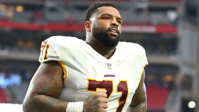 Washington Redskins offensive tackle Trent Williams