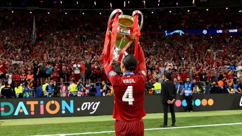 Virgil Van Dijk Wins UEFA Men's Player Of The Year Award For 2018-19