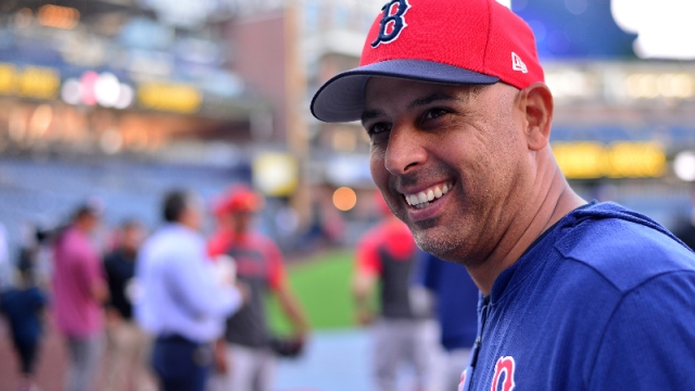 Former Boston Red Sox manager Alex Cora