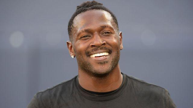 Former New England Patriots receiver Antonio Brown