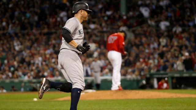 New York Yankees Catcher Austin Romine