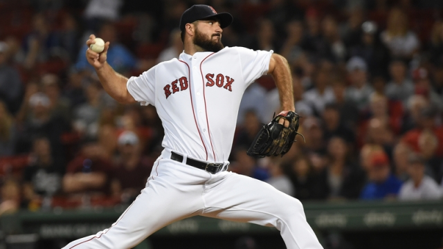 Boston Red Sox's Brandon Workman