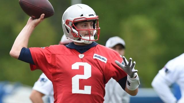 Patriots quarterback Brian Hoyer