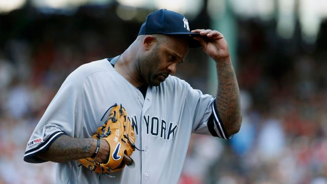 New York Yankees starting pitcher CC Sabathia