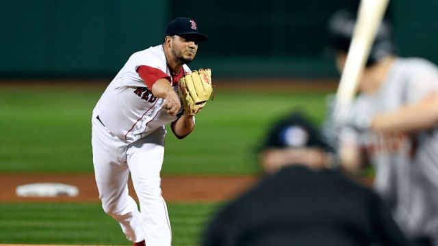 Boston Red Sox pitcher Jhoulys Chacin