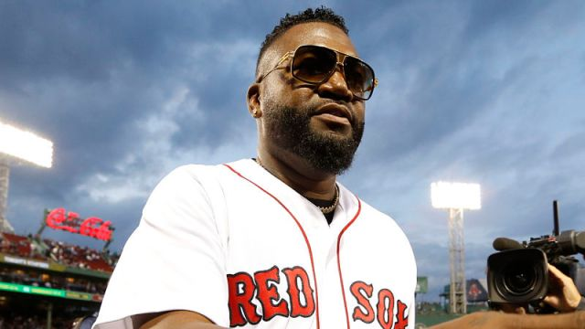 Former Boston Red Sox DH David Ortiz