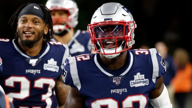 New England Patriots Safety Devin McCourty