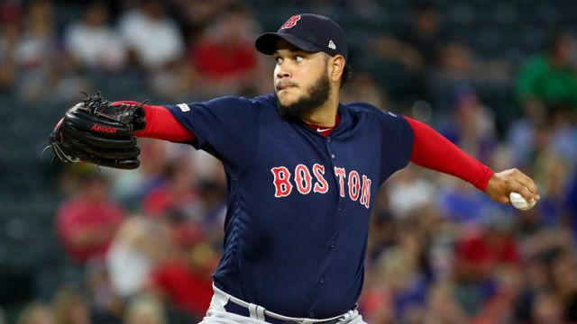 Red Sox starting pitcher Eduardo Rodriguez