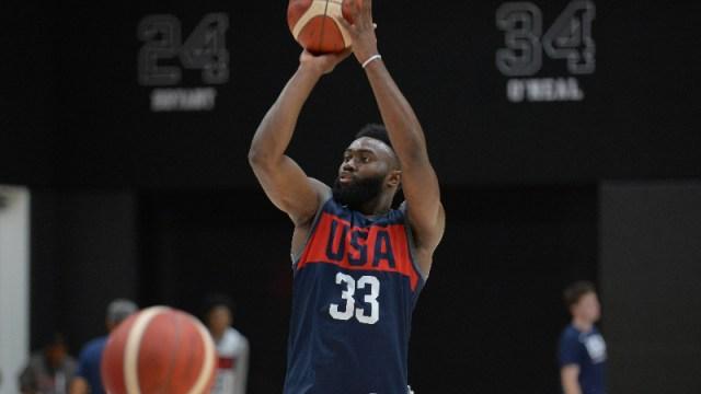 Boston Celtics and United States forward Jaylen Brown