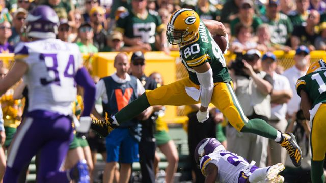 Green Bay Packers tight end Jimmy Graham