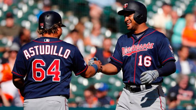 Minnesota Twins designated hitter Jonathan Schoop