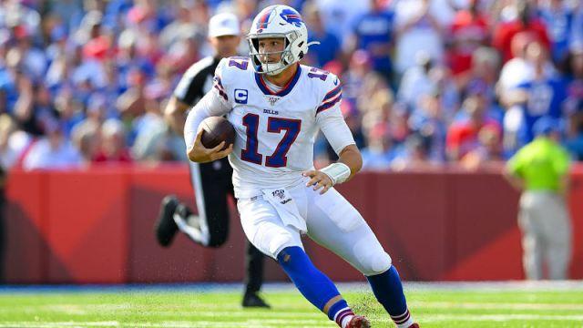 Buffalo Bills quarterback Josh Allen