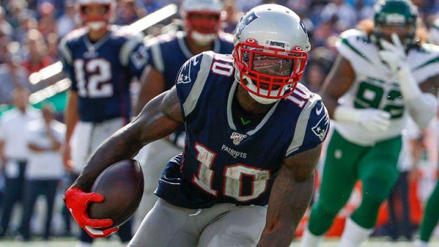 New England Patriots receiver Josh Gordon