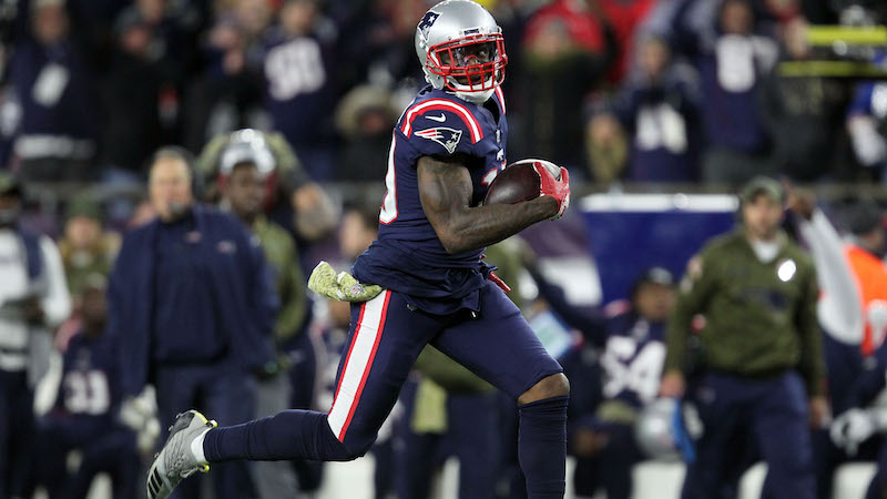 Here's When Patriots Will Wear Alternate 'Color Rush' Jerseys In ...