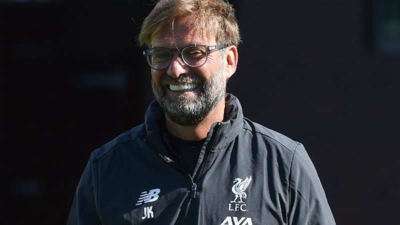 FIFA Names Liverpool's Jurgen Klopp As Best Men's Coach For 2019