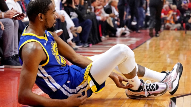 NBA forward Kevin Durant