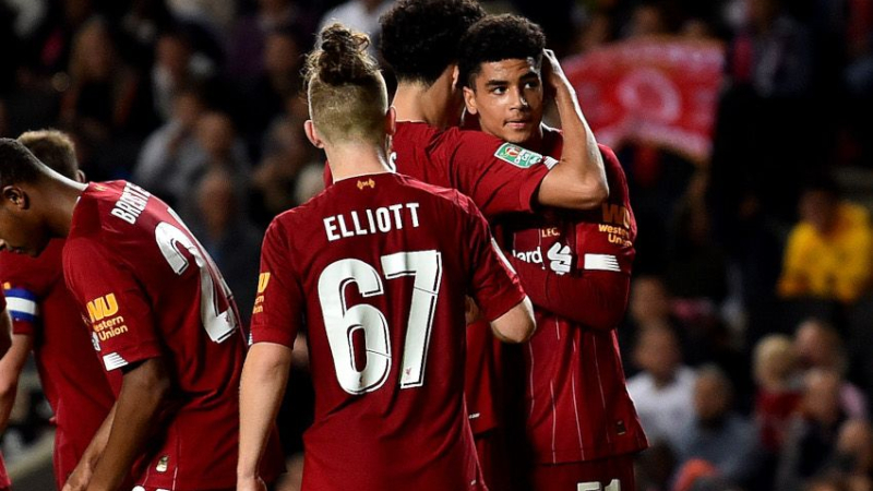 MK Dons Vs. Liverpool: Young Reds Advance In Carabao Cup With Win