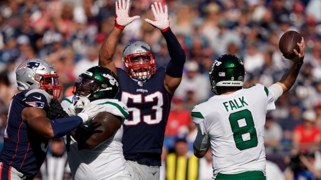 Patriots linebacker Kyle Van Noy