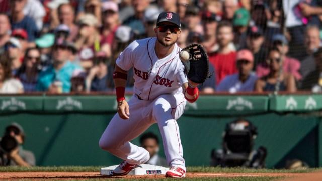 Boston Red Sox first baseman Michael Chavis