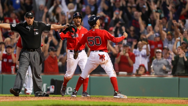 Boston Red Sox's Mookie Betts And Xander Bogaerts